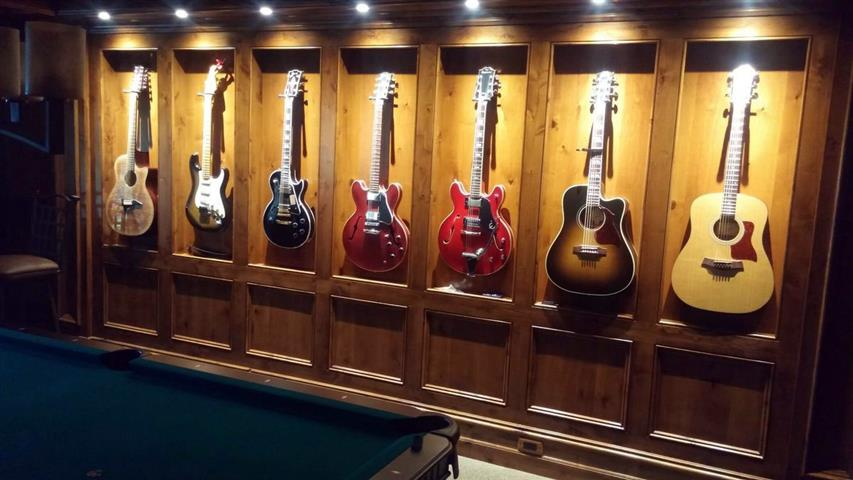 Recessed Lighting and Guitars